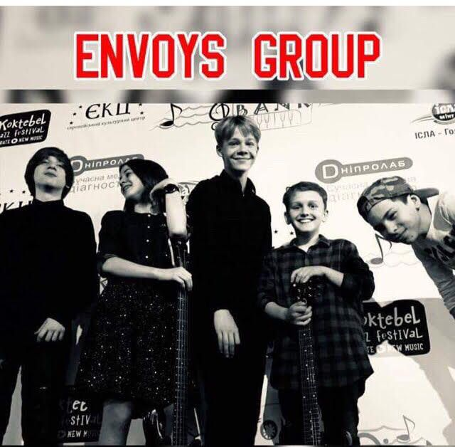 Сьогодні о 18:00 Envoys Group виступить на Jazz Picnic на Стадіоні