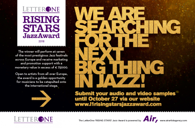 LetterOne «RISING STARS» Jazz Award is opened for young jazz talents