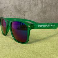 Очки зелёные