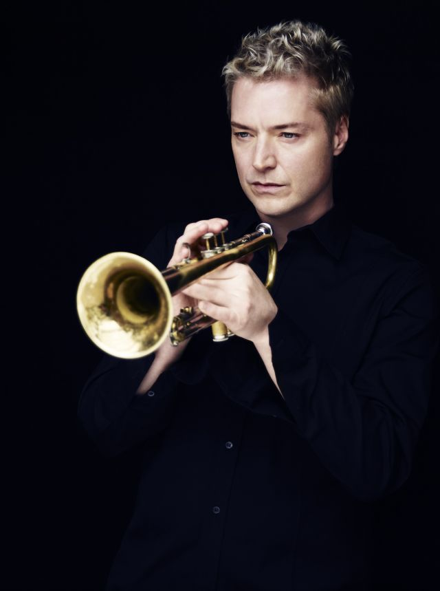 On 27 June the American trumpeter and composer Chris Botti will perform at Eddie Rosner stage