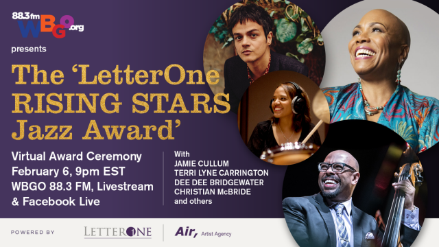 Join the broadcast of LetterOne Rising Stars Jazz Award ceremony